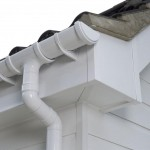 Brilliant White Gloss Guttering in Laois